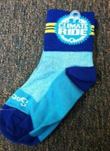 Climate Ride Socks