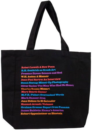 New York Review of Books 50th Anniversary Tote by ECOBAGS