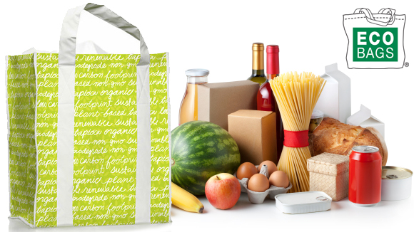 Reusable Bags made with Compostable Tapioca Starch