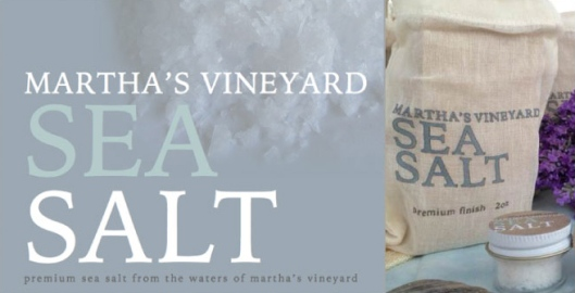Martha's Vineyard Sea Salt Responsibly Packaged their Product in custom made bags from Eco-Bags Products!