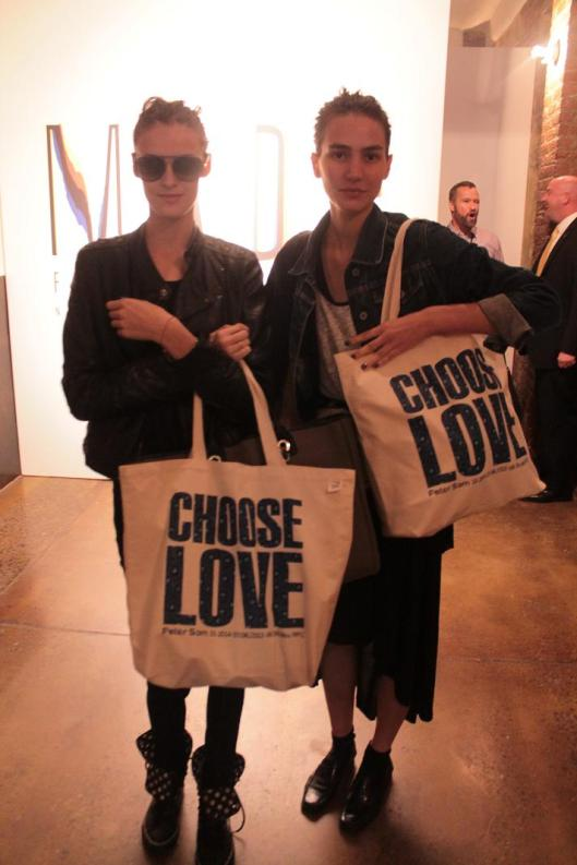 #nyfw #models with our canvas #tote (CAN-501)