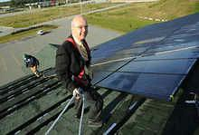 Jim Wellehan solar panel