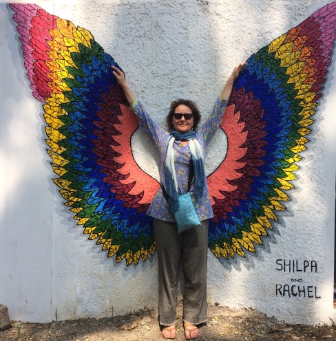 Sharon with Wings_Cochin India